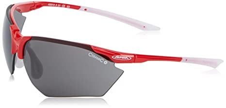 ALPINA, Occhiali da sole sportivi 'Splinter HR C+', Multicolore (Fassung: Red-Wh