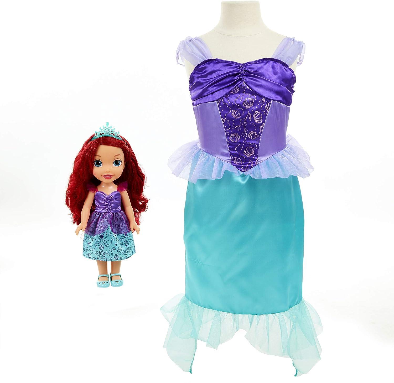 Amazon.com: Disney Princess Ariel Doll y vestido de niña ...