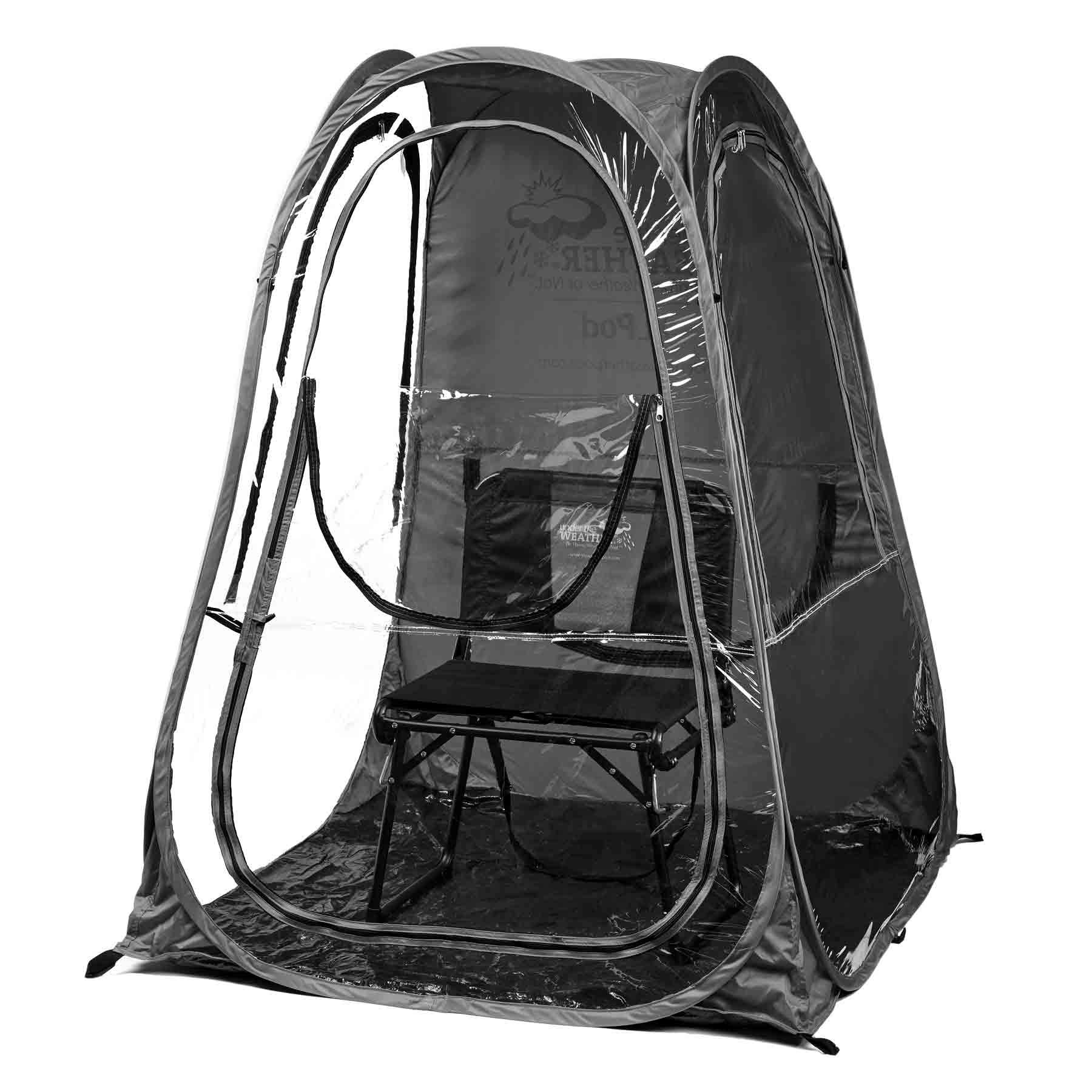 Under the Weather T48-BLK XLPod Sun Shelter, Black, X-Large by Under the Weather
