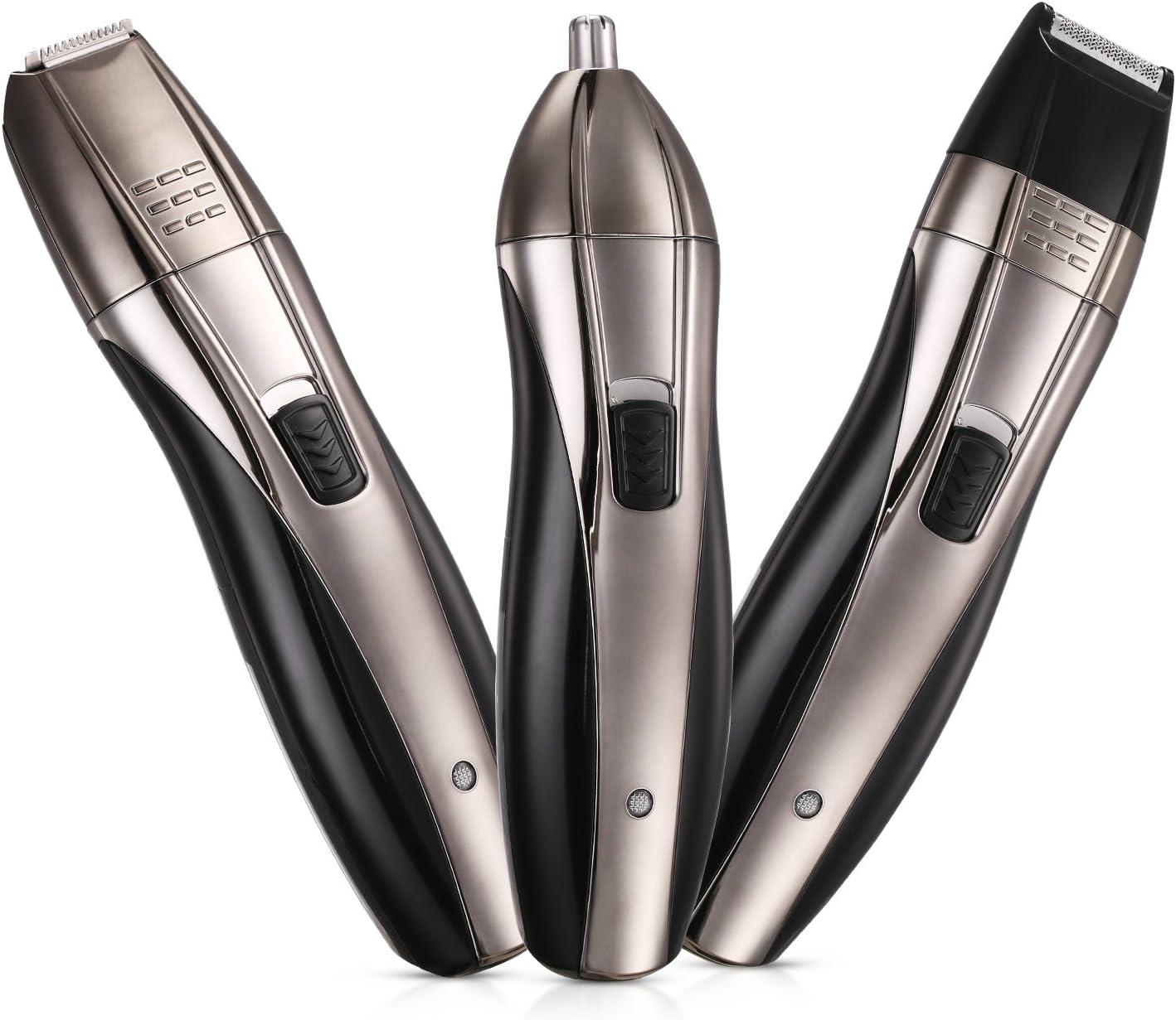 Recortador de Nariz 3 en 1 Afeitadora Eléctrica Hombre Afeitadora ...