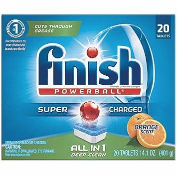 Amazon.com: terminar All In 1 Powerball Naranja, 20 ct ...