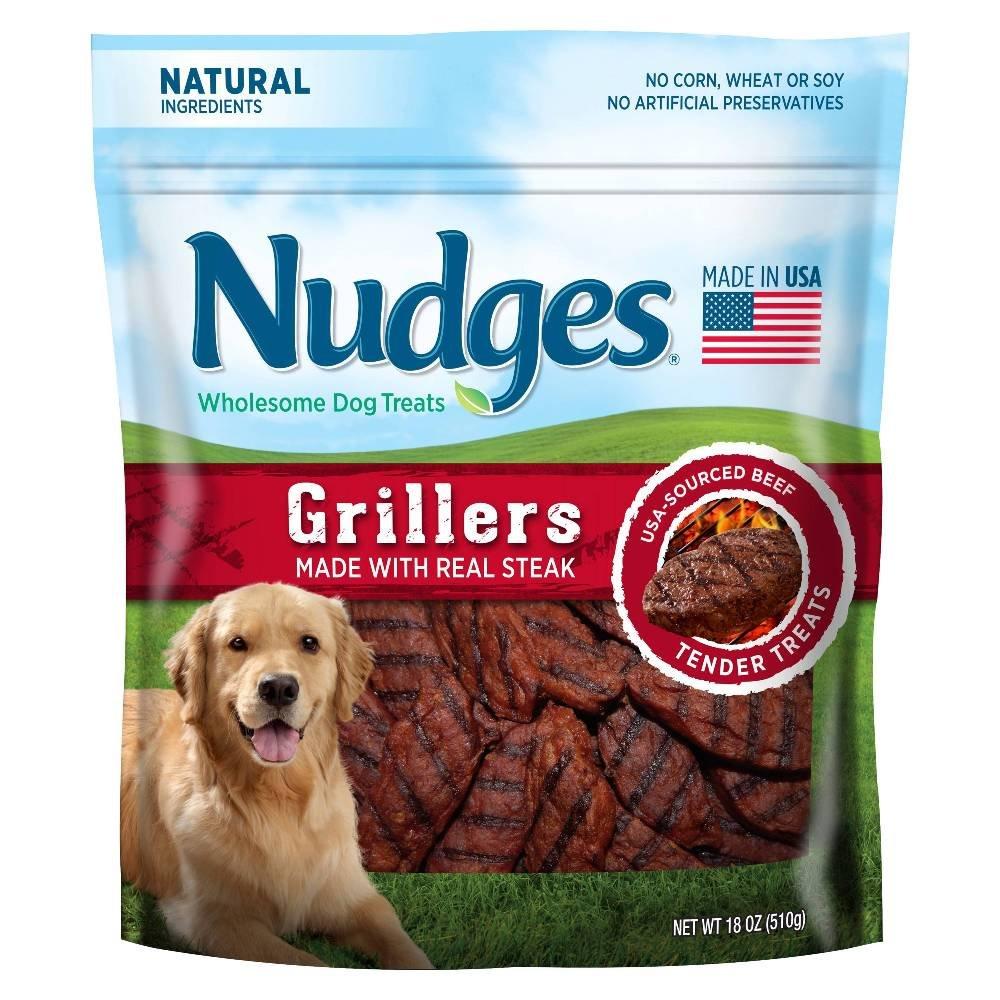 Nudges Steak Jerky Treat (18 oz - 5 pack)