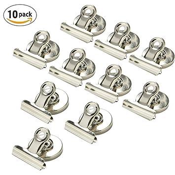 Magnetclips Haken Kühlschrank   10 Stück Super Stark Klammer Halter  Kühlschrank Metall Magnet Klammer Kühlschrank Magnetisch