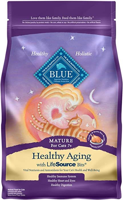 Top 9 Blue Cat Food Healthy Living Mature