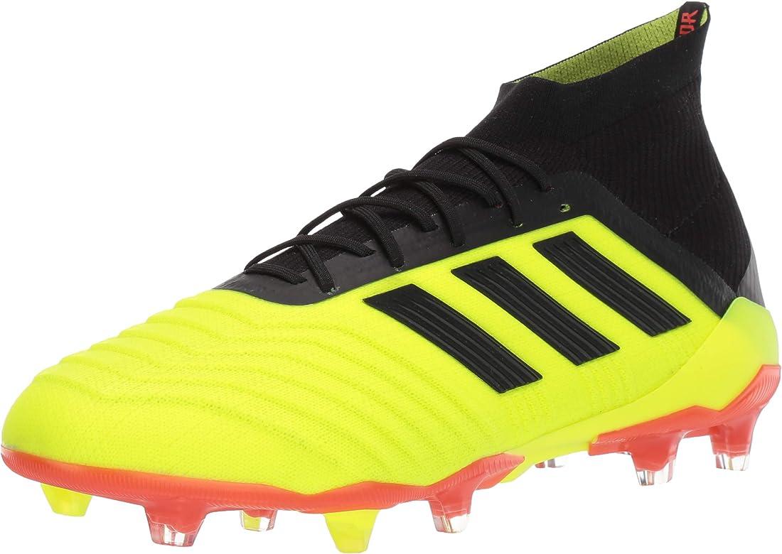 adidas Predator 18.1 Firm Ground Cleats Yellow adidas US  adidas Men's Predator 18.1 FG Soccer Shoe