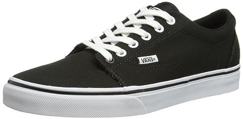Vans Kress VNLH6BT - Zapatillas de deporte de tela para hombre, color negro, talla 43