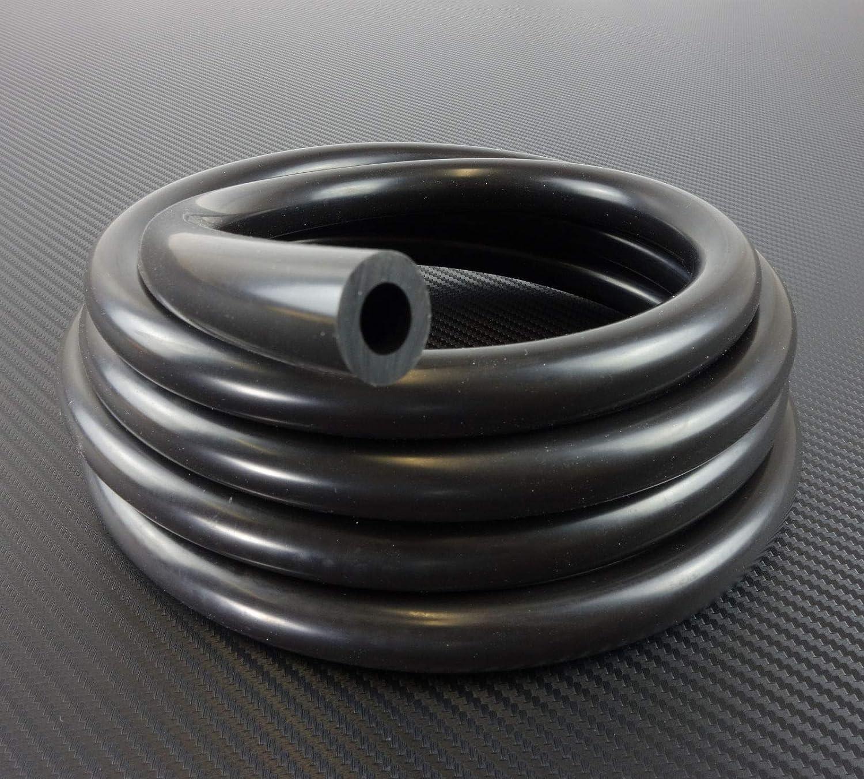 Silikonschlauch 50cm ID 22mm schwarz*** Unterdruckschlauch Vacuum Hose Verbinder LLK