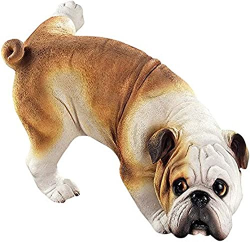 Design Toscano Good Dog Gone Bad Peeing pug Statues