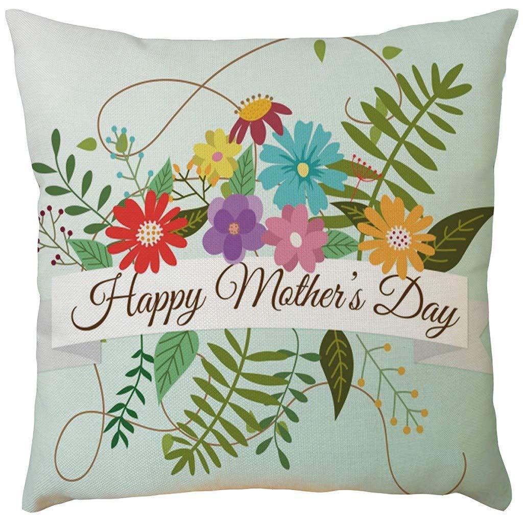 Amazon.com: EOWEO - Funda de almohada para el día de la ...