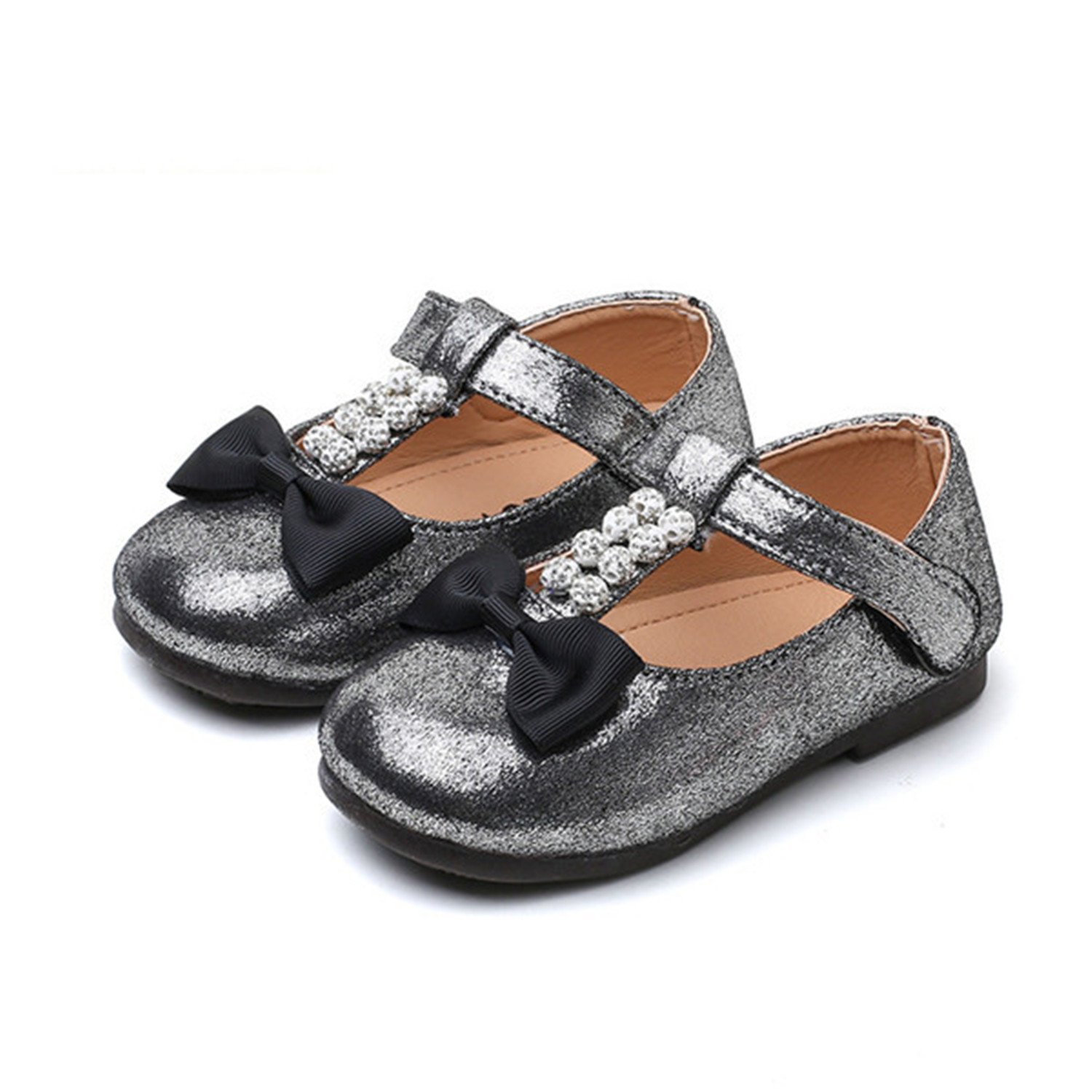 ea52025c33c 2-8Y Toddler Baby Girl Shoes Princess Pu Leather Kids Flats Children Girls  Casual Shoes
