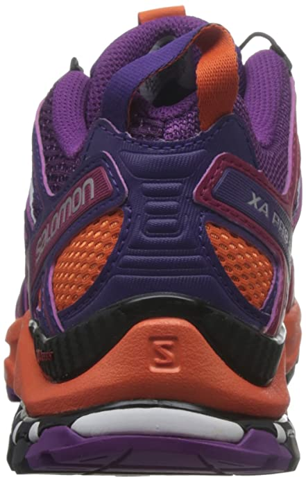 Salomon Damen Xa Pro 3D W Traillaufschuhe dunkelviolett 43.3 EU B06ZY2HKHC