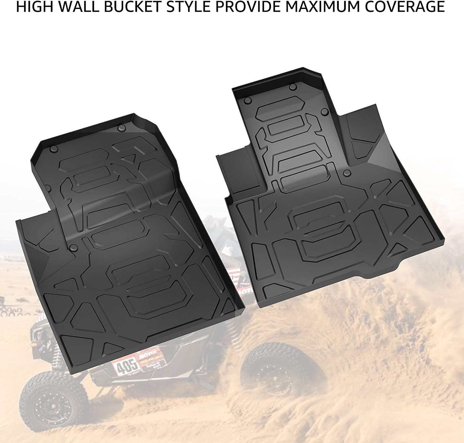 0603102 Custom Fit Car Mat 4PC Gray PantsSaver