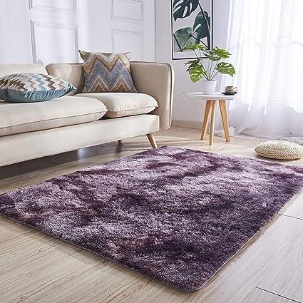 Stile Moderno Area tappeti Shaggy Spessi Home Soggiorno Pavimento ...