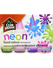 Club House, Food Colour Preparation, Neon, 4 Count