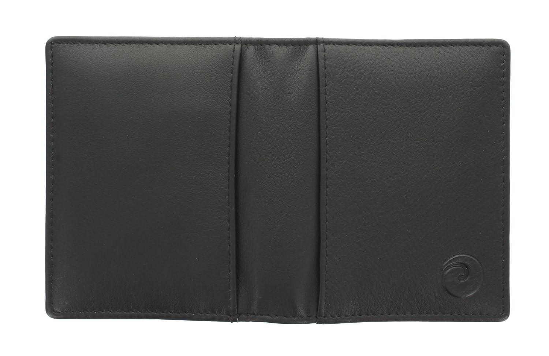 con protezione RFID 177/_5 Marrone Collezione ORIGIN Porta carte di credito di pelle Mala Leather