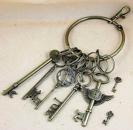 Amazon.com: ZHONGJIUYUAN - Juego de 12 llaves con forma de ...