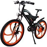 Addmotor HITHOT Power Mountain Electric Bikes Motor 500W 48V 26 inch Wheel Power Alloy Frame Mountain E-Bike 2018 H2 Electric Bicycle With Lithium-Ion Battery