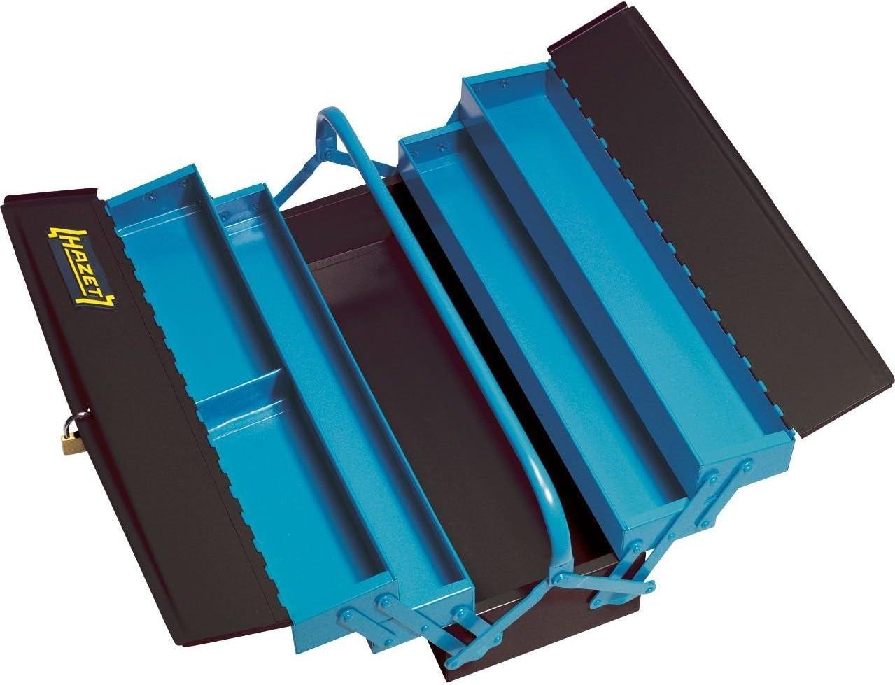 Hazet 190L Empty Tool Box, 22.64 x 9.65 x 8.27