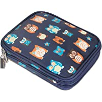 Teamoy Crochet Hook Case, Travel Storage Bag for Various Crochet Needles and Accessories, Lightweight and All in One Place, Easy to Carry (No Accessories Included)