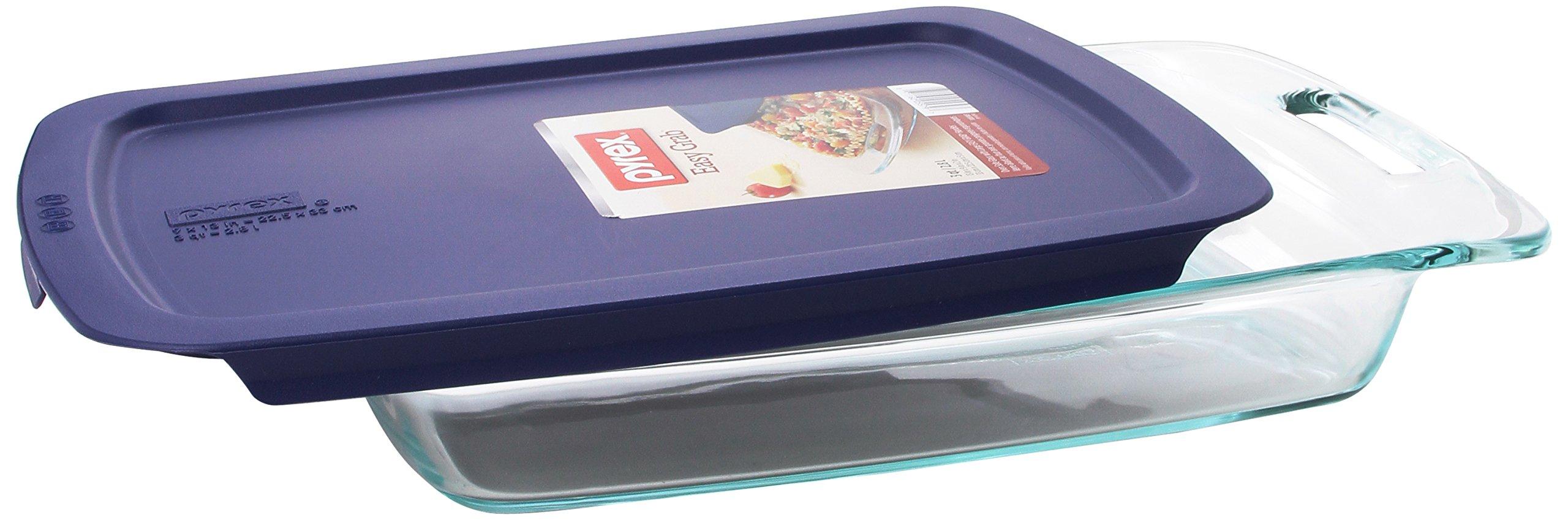 Pyrex Easy Grab 3-Quart Oblong Baking Dish by Pyrex