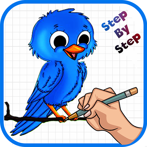 Amazon Com Learn How To Draw Cute Birds Appstore For Android