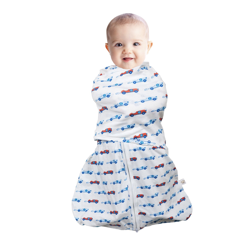 Clevamama Swaddle - Saco para dormir 3 en 1, color azul 7519