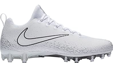 126fcdd501d0e Nike Men's Vapor Untouchable Pro Football Cleats White Silver Size 16