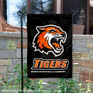 College Flags and Banners Co. RIT Tigers Garden Flag