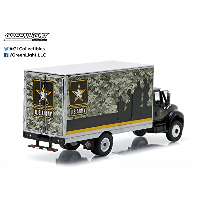 International DURASTAR Box Van U.S. Army H-D Trucks Series 3 Greenlight Collectibles 1:64 Scale 2015 Limited Edition Die-Cast Vehicle: Toys & Games