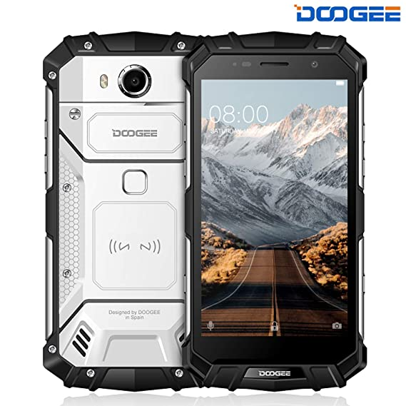huge selection of f6413 f264e Rugged Cell Phones Unlocked, DOOGEE S60 Lite 4G Rugged Smartphone Unlocked  Android 7.0-5580mAh Battery - 5.2'' IPS - IP68 Dustproof Shockproof ...