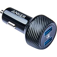 Carregador Veicular Anker PowerDrive Speed, Compatível com Qualcomm Quick Charge 3.0, 2 portas USB, 39W de potência