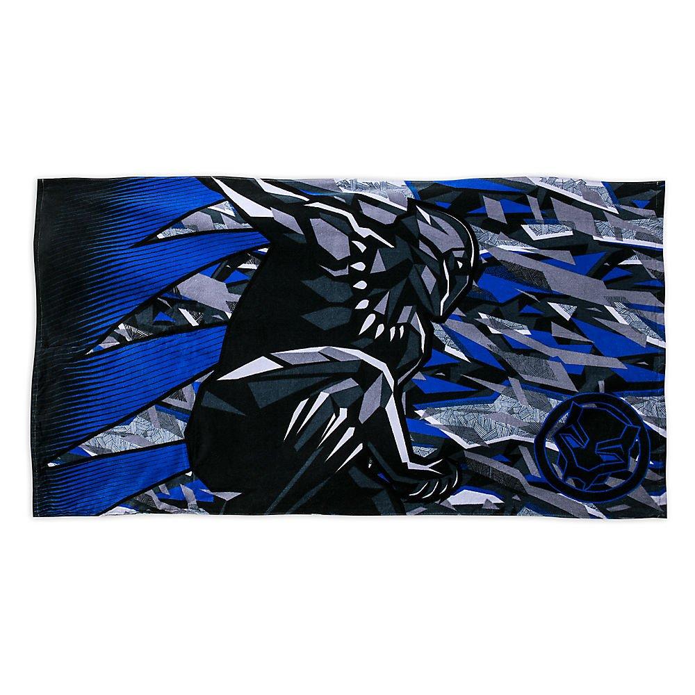 Marvel Black Panther Premium Beach Towel with Bag 427266294187