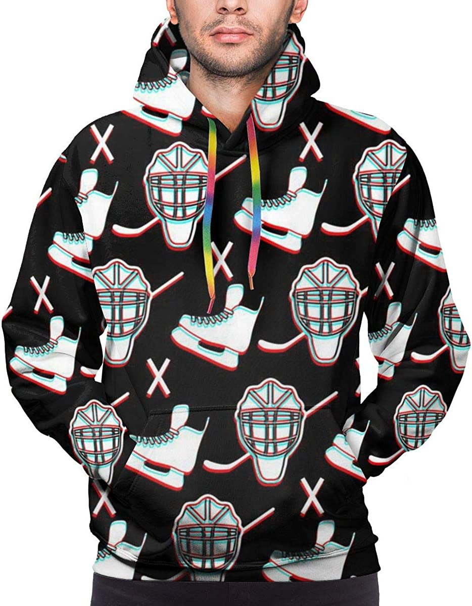 Mens Hoodie Ice Hockey Sweate Sweatshirt Mens Casual Hoodie Casual Top Hooded