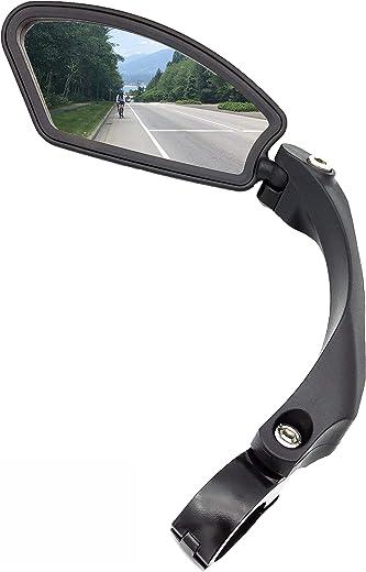 Hafny Stainless Steel Lens Handlebar Bike Mirror, Safe Rearview Mirror, Bicycle Mirror, Cycle Mirror