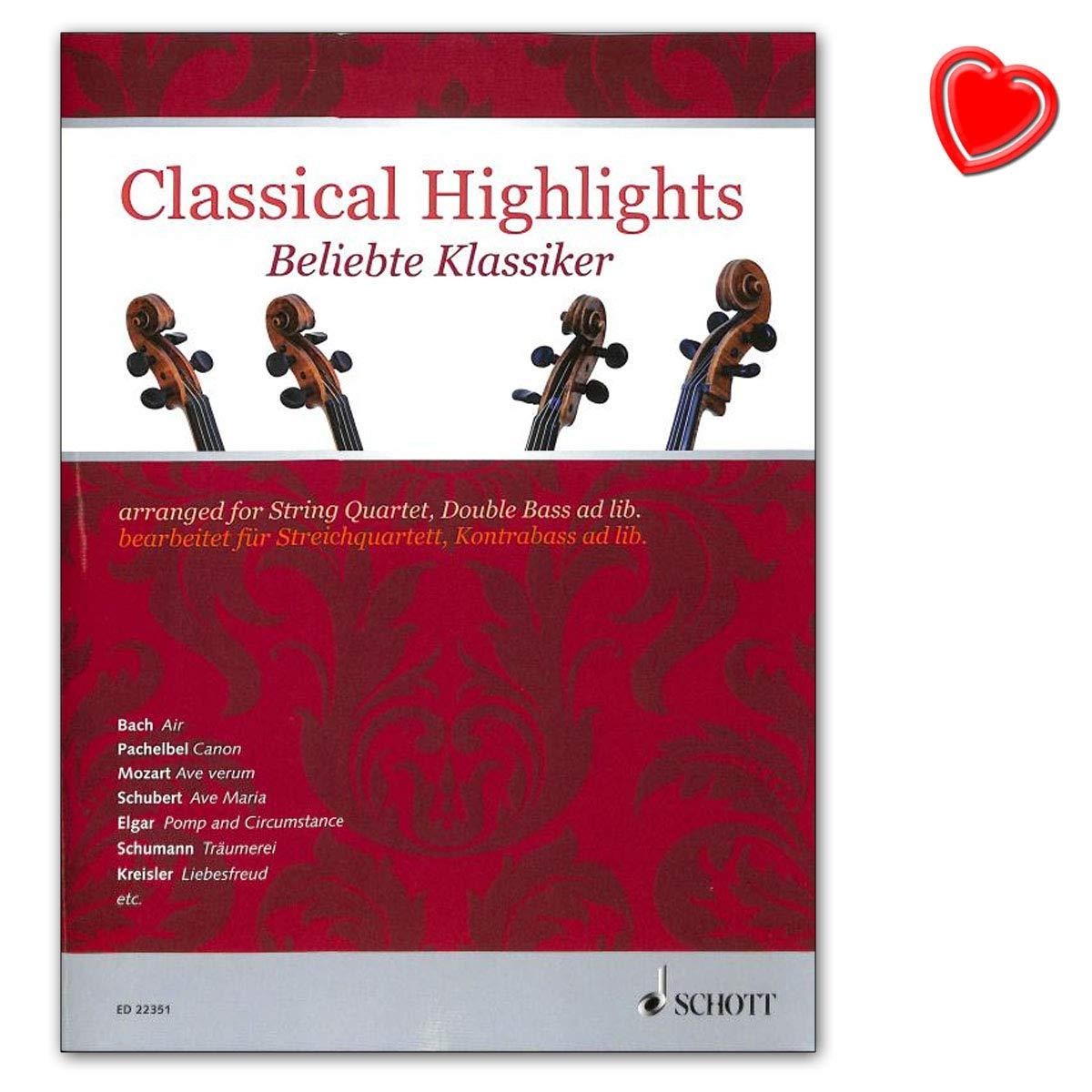 Classical Highlights – populares clásico bearbeitet para streich ...