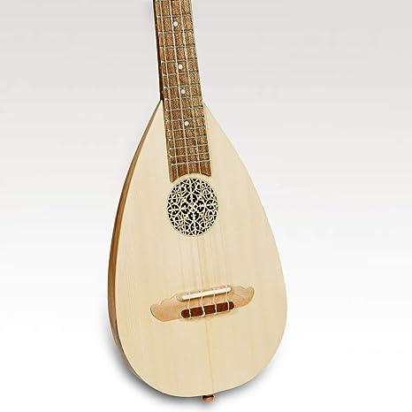 Heartland - Ukelele barroco, 4 cuerdas, color nogal: Amazon.es ...