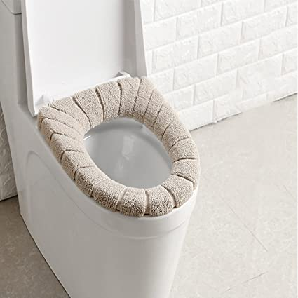 Enjoyable Toilet Seat Covers Soft And Comfortable Bathroom Toilet Seat Cushion Cover Pads Washable Reusable Ibusinesslaw Wood Chair Design Ideas Ibusinesslaworg