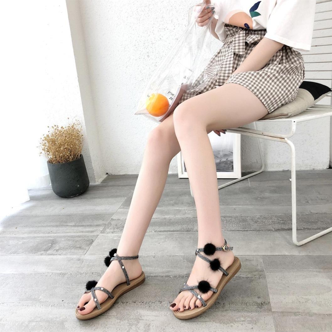 LTQ&QING new-Chaussures brod¨¦es, semelle tendineuse, style ethnique, chaussures en tissu f¨¦minin, mode, chaussures de danse confortables, red, 39