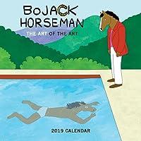 Art of BoJack Horseman 2019 Wall Calendar