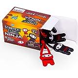 Pick A Toy Stretchy Flying Ninjas [12-Pieces] | Elastic Slingshot Ninja Toys for Boys & Girls | Great Birthday Gift…