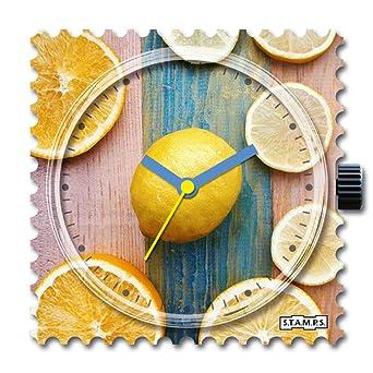 S.T.A.M.P.S. Stamps Reloj Completo – Esfera Citrus con Pulsera de ...
