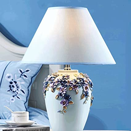 PIAOLING Lámpara de Mesa de Boda Simple y cálido ...