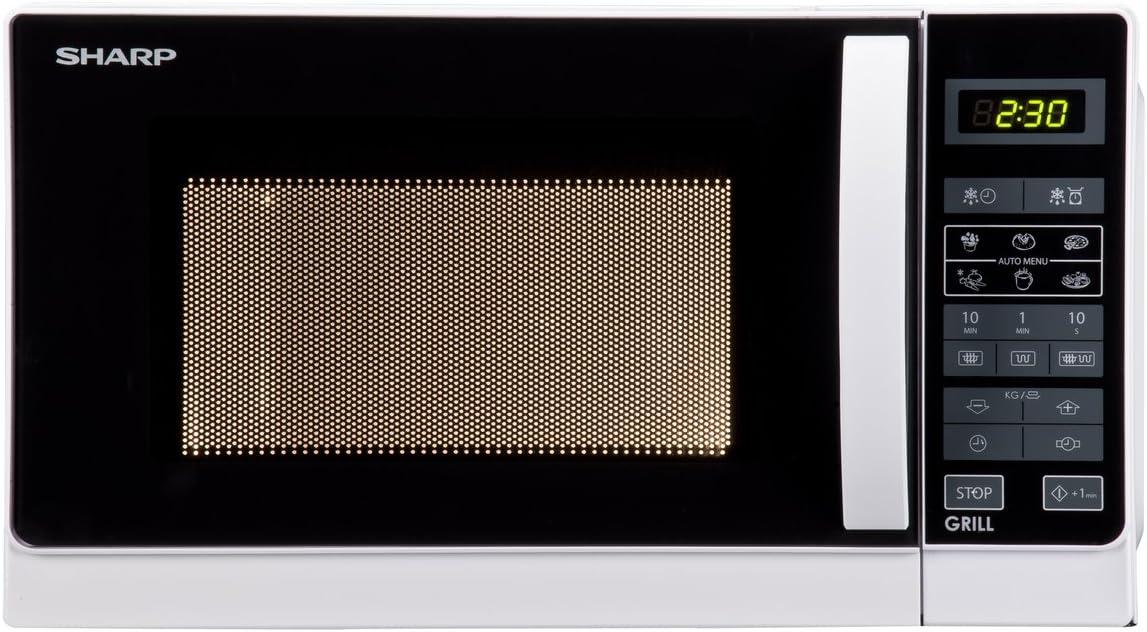 SHARP R642INW Microondas con grill 20l. Blanco: Amazon.es: Hogar