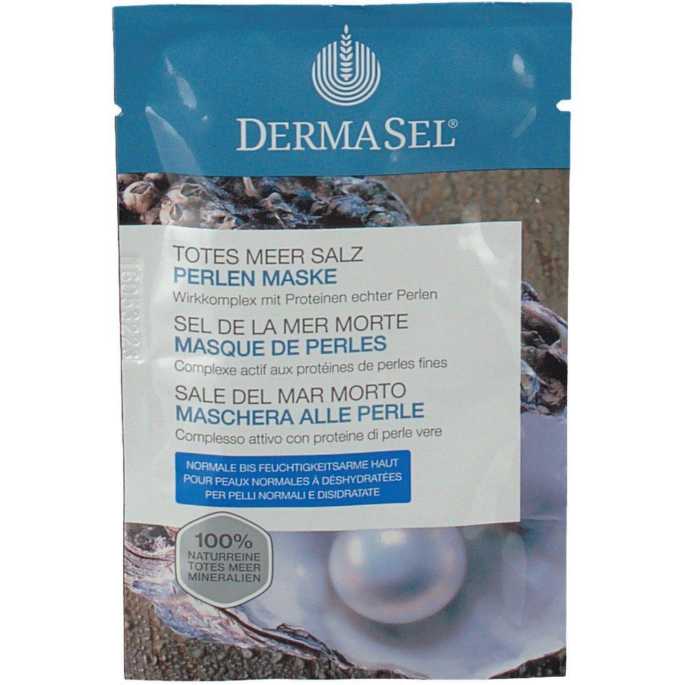 Dermasel Masque Mer Morte de Perles Sachet de 12 ml - Lot de 4 D42071