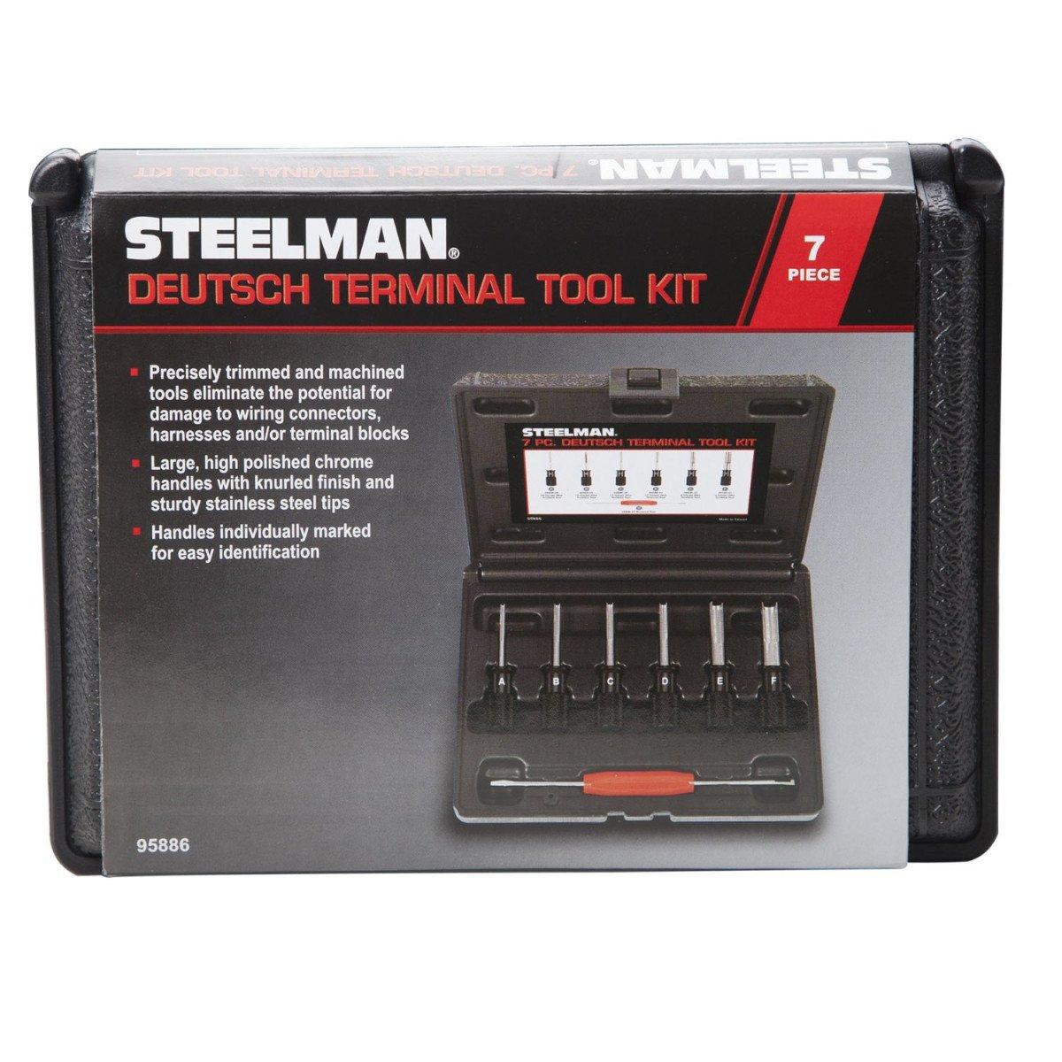 amazon com steelman 95886 7 piece deutsch terminal tool kit amazon com steelman 95886 7 piece deutsch terminal tool kit automotive