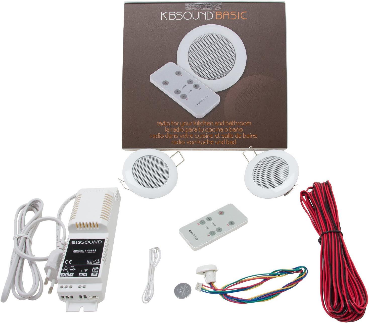 Kbsound Radio 220v 2x Deckenlautsprecher Küchenradio Elektronik