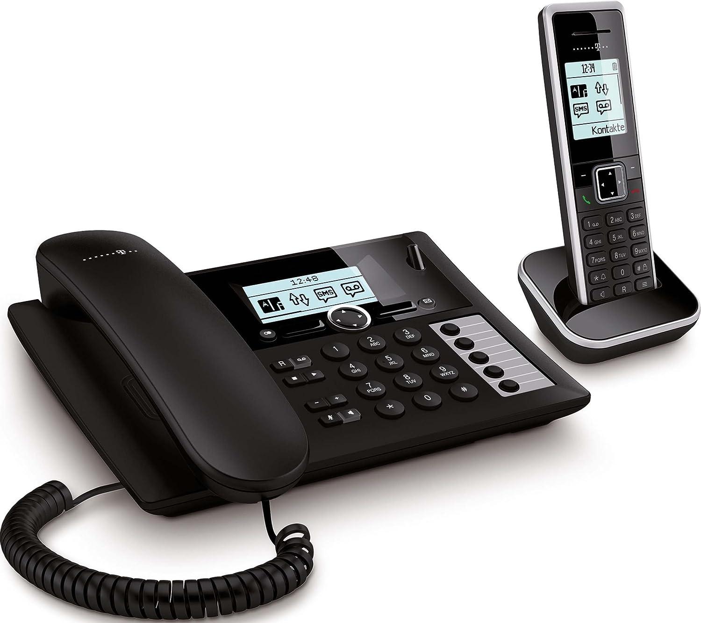 Telekom Sinus Pa 206 Plus 1 Schwarz Silber Komf Tel Elektronik