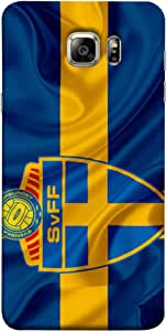 ColorKing Football Sweden 11 Multi Color shell case cover for Samsung S6