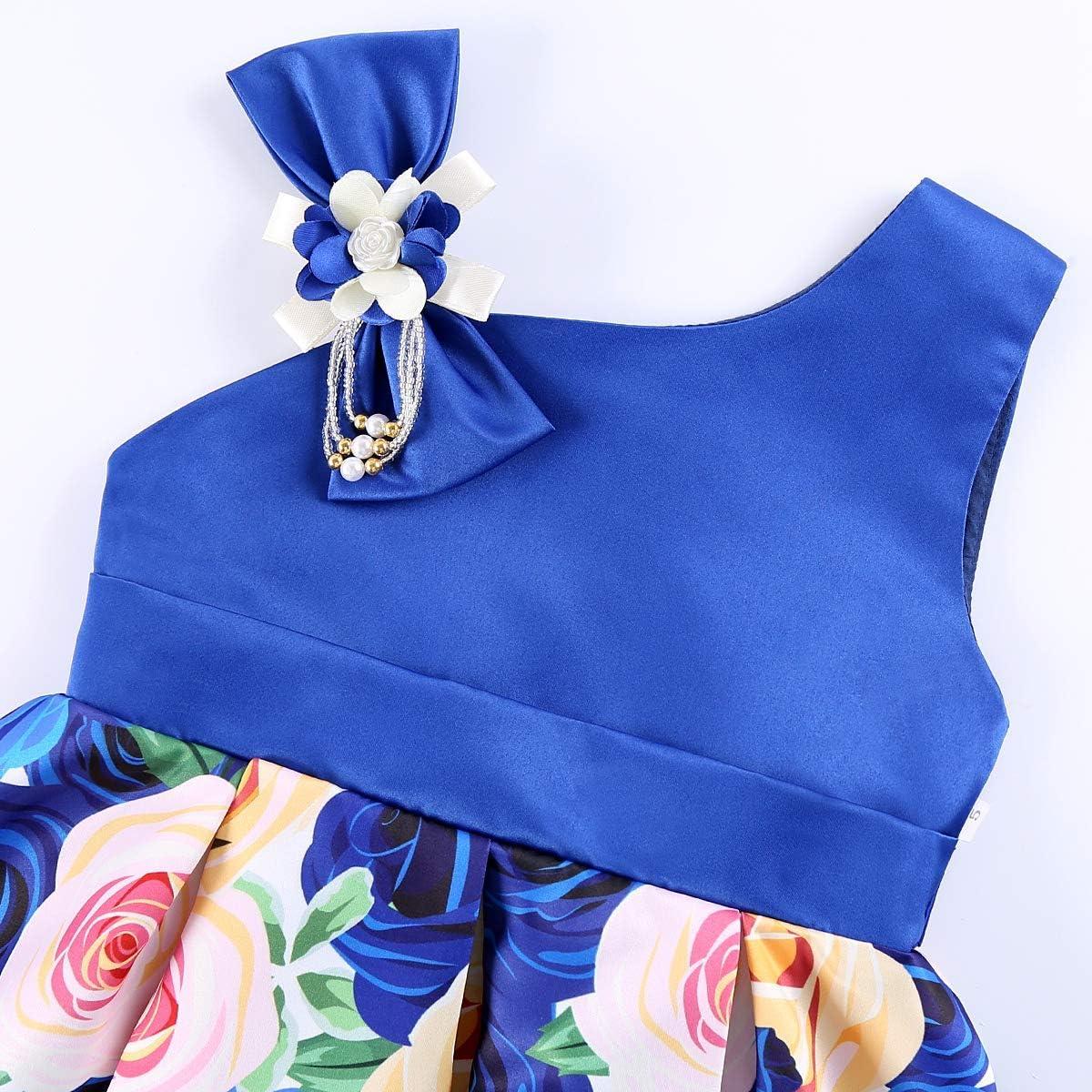 Amazon.com: Mu yangren vestido de niña de boda dama de honor ...