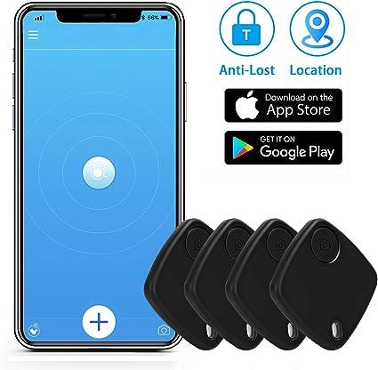 Bluetooth Tracking Device Anti Lost Key Finder Locator GPS Wallet Locator Life is Smart Key Finder Black| Phone Key Finder Upgrade